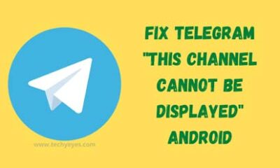 Fix Telegram This Channel Cannot Be Displayed