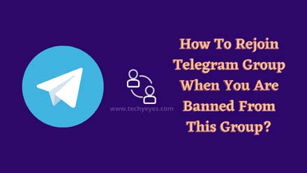 Rejoin Telegram Group When You Are Banned