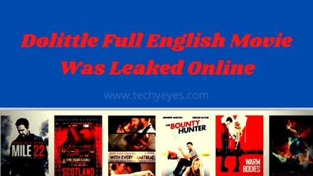 Dolittle Full English Movie