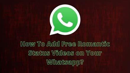 Romantic Whatsapp Status Video