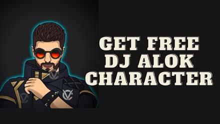 Free DJ Alok Character