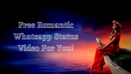Romantic Whatsapp Status Video